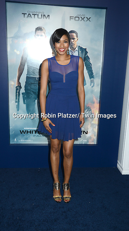 Alicia Quarles attends the Domestic Premiere of &quot;White House Down&quot;<br /> on June 25, 2013 at the Ziegfeld Theatre in New York City. The movie stars Channing Tatum and Jamie Foxx and Maggie Gyllenhaal.