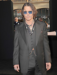 Johnny Depp at The Warner Bros. L.A. Premiere of DARK SHADOWS held at The Grauman's Chinese Theatre in Hollywood, California on May 07,2012                                                                               © 2012 Hollywood Press Agency