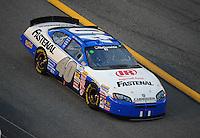 Jul. 4, 2008; Daytona Beach, FL, USA; Nascar Nationwide Series driver Bryan Clauson during the Winn-Dixie 250 at Daytona International Speedway. Mandatory Credit: Mark J. Rebilas-