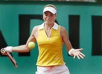 4-6-06,France, Paris, Tennis , Roland Garros, Bibiane Schoofs