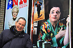 """One Life To Live's Peter Bartlett stars in Broadway's Cinderella as """"Sebastian"""" at the Broadway Theatre, NYC and poses with Broadway's Nathan Lane in the photo as he will be starring in The Nance in March. (Photo by Sue Coflin/Max Photos)"""