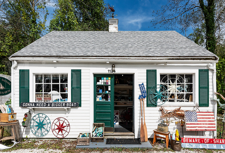 Charming little antique shop, Chatham, Cape Cod, Massachusetts, USA. antique shop, Chatham, Cape Cod, Massachusetts, USA.