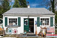 Charming little antique shop, Chatham, Cape Cod, Massachusetts, USA. antique shop, Chatham, Cape Cod, Massachusetts, USA.