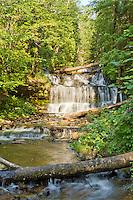 Wagner Falls, Munising, Michigan