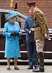 24.10.2017, London; UK: QUEEN ELIZABETH AND PRINCE CHARLES<br /> visited the Household Cavalry Mounted Regiment in a joint engagement at Hyde Park Barracks.<br /> Mandatory Credit Photo: &copy;MoD/NEWSPIX INTERNATIONAL<br /> <br /> IMMEDIATE CONFIRMATION OF USAGE REQUIRED:<br /> Newspix International, 31 Chinnery Hill, Bishop's Stortford, ENGLAND CM23 3PS<br /> Tel:+441279 324672  ; Fax: +441279656877<br /> Mobile:  07775681153<br /> e-mail: info@newspixinternational.co.uk<br /> *All fees payable to Newspix International*