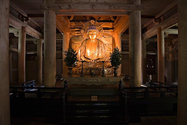 The Jogyodo at Engyoji Temple on Mount Shosha is dedicated to Amitabha Buddha