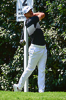 Brooks Koepka (USA) watches his tee shot on 2 during round 1 of the World Golf Championships, Mexico, Club De Golf Chapultepec, Mexico City, Mexico. 3/2/2017.<br /> Picture: Golffile | Ken Murray<br /> <br /> <br /> All photo usage must carry mandatory copyright credit (&copy; Golffile | Ken Murray)