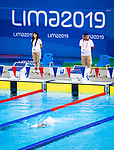 Lima, Peru -  30/August/2019 -   Clemence Pare competes in the women's 200m freestyle S5 at the Parapan Am Games in Lima, Peru. Photo: Dave Holland/Canadian Paralympic Committee.