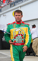 Jul. 4, 2008; Daytona Beach, FL, USA; NASCAR Sprint Cup Series driver Scott Riggs during qualifying for the Coke Zero 400 at Daytona International Speedway. Mandatory Credit: Mark J. Rebilas-