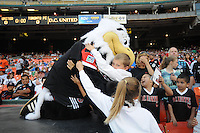 D.C. United mascot Talon.  D.C. United defeated Toronto FC 3-1 at RFK Stadium, Saturday May 19, 2012.