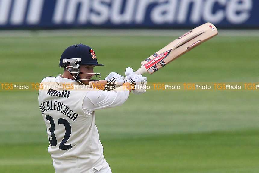 Jaik Mickleburgh hits four runs for Essex - Essex CCC vs Kent CCC - LV County Championship Division Two Cricket at the Essex County Ground, Chelmsford - 22/05/13 - MANDATORY CREDIT: Gavin Ellis/TGSPHOTO - Self billing applies where appropriate - 0845 094 6026 - contact@tgsphoto.co.uk - NO UNPAID USE.