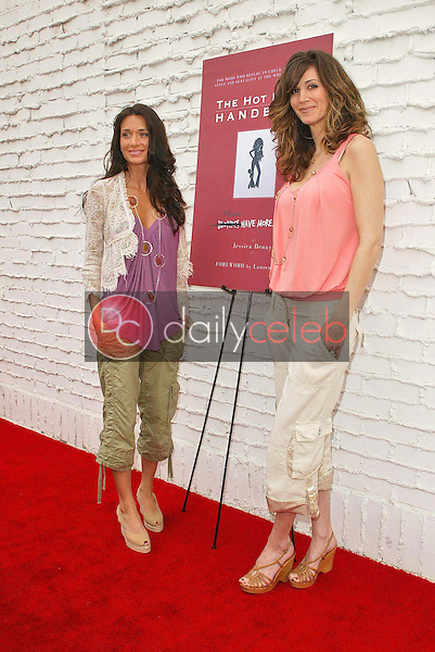 Jessica Denay and Joy Tilk-Bergin<br />the Hot Mom's Club Book Launch Party. NanaÕs Garden, Los Angeles, CA. 04-29-06<br />Jason Kirk/DailyCeleb.com 818-249-4998