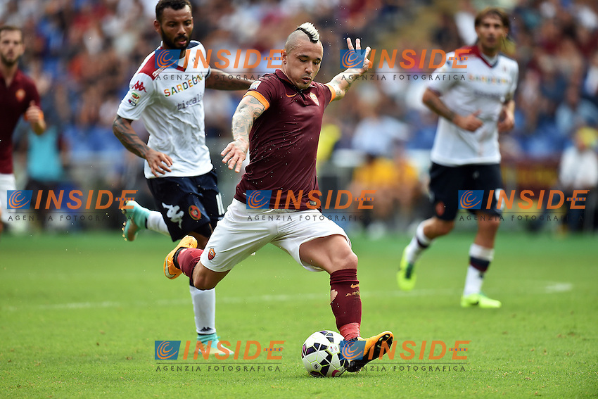 Radja Nainngolan Roma <br /> Roma 21-09-2014 Stadio Olimpico, Football Calcio Serie A AS Roma - Cagliari. Foto Andrea Staccioli / Insidefoto