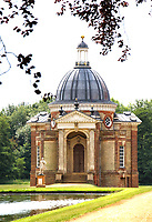 Six sites managed by English Heritage have reopened to the public this week after closing amid the coronavirus lockdown. Wrest Park, Bedfordshire is one of  the six sites and has adopted a one way system with separate entrance and exit points, along with social distancing markers. Wrest Park, Bedford, UK June 17th 2020<br /> <br /> Photo by Keith Mayhew