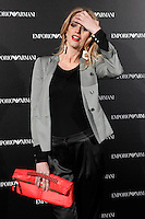 Teresa Baca Astolfi attends the Emporio Armani Boutique opening at Serrano street in Madrid, Spain. April 08, 2013. (ALTERPHOTOS/Caro Marin) /NortePhoto