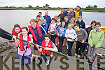 OARS READY: Callinafercy Rowing Club members preparing for their annual regatta next Sunday at Ballykissane Pier.