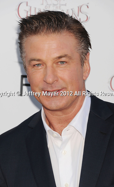 HOLLYWOOD, CA - NOVEMBER 04: Alec Baldwin  arrives at the premiere of 'Rise of the Guardians' during the 2012 AFI Fest presented by Audi at Grauman's Chinese Theatre on November 4, 2012 in Hollywood, California.