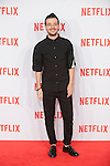 Fernando Tielve attends Netflix presentation in Madrid, Spain. October 20, 2015. (ALTERPHOTOS/Victor Blanco)