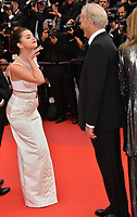 """CANNES, FRANCE. May 14, 2019: Selena Gomez & Bill Murray at the gala premiere for """"The Dead Don't Die"""" at the Festival de Cannes.<br /> Picture: Paul Smith / Featureflash"""