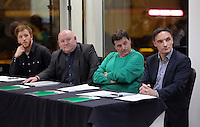 Pictured L-R: Nathan Dicks, Huw Cooze, Leigh Dineen and Steve Wednesday 25 November 2015<br />