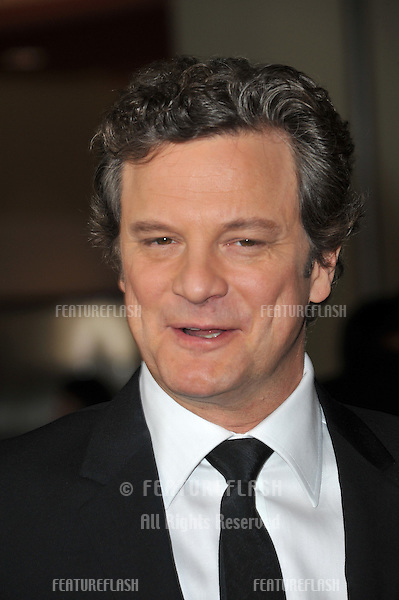 Colin Firth at the 63rd Annual Directors Guild of America Awards at the Grand Ballroom at Hollywood & Highland complex, Hollywood...January 29, 2011  Los Angeles, CA.Picture: Paul Smith / Featureflash