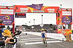 Guillaume Martin (FRA) Wanty-Gobert Cycling Team wins Stage 4 of Il Giro di Sicilia 2019 running 119km from Giardini Naxos to Mount Etna (Nicolosi), Italy. 6th April 2019.<br /> Picture: LaPresse/Massimo Paolone | Cyclefile<br /> <br /> All photos usage must carry mandatory copyright credit (&copy; Cyclefile | LaPresse/Massimo Paolone)