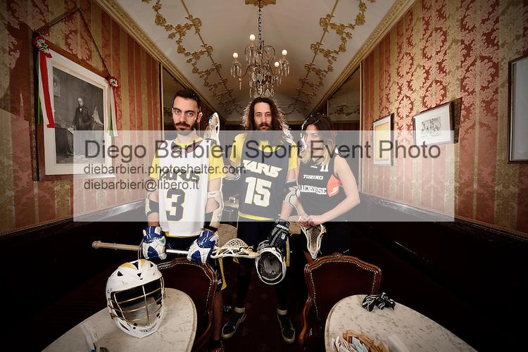 Shooting Torino Lacrosse @ Caffè Florio