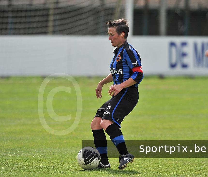 Club Brugge Dames - STVV Sint Truidense VV : Christine Saelens.foto DAVID CATRY / Nikonpro.be