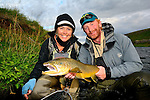 Iceland 2013, Cathy Beck's brown trout