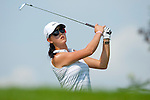 CHON BURI, THAILAND - FEBRUARY 19:  Michelle Wie of USA tees off on the 13th hole during day three of the LPGA Thailand at Siam Country Club on February 19, 2011 in Chon Buri, Thailand. Photo by Victor Fraile / The Power of Sport Images