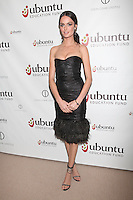 Nicole Trunfio at the Ubuntu Education Fund New York City Gala, June 6, 2012. © Diego Corredor / MediaPunch Inc. ***NO GERMANY***NO AUSTRIA***