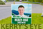 Jackie Healy-Rea election poster
