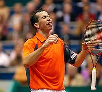26-2-06, Netherlands, tennis, Rotterdam, Stepanek goes wild after winning the 33th ABNAMROWTT