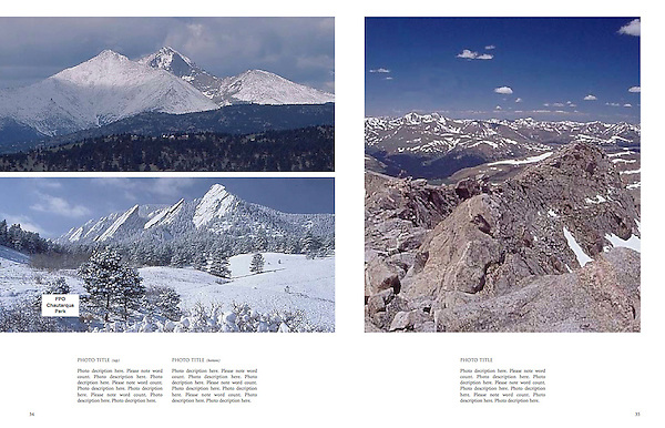 """Private guided tours of Colorado by John.<br /> From John's 4th book: """"Boulder, Colorado: A Photographic Portrait."""""""