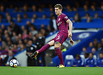 John Stones of Manchester City during the premier league match at the Stamford Bridge stadium, London. Picture date 30th September 2017. Picture credit should read: Robin Parker/Sportimage