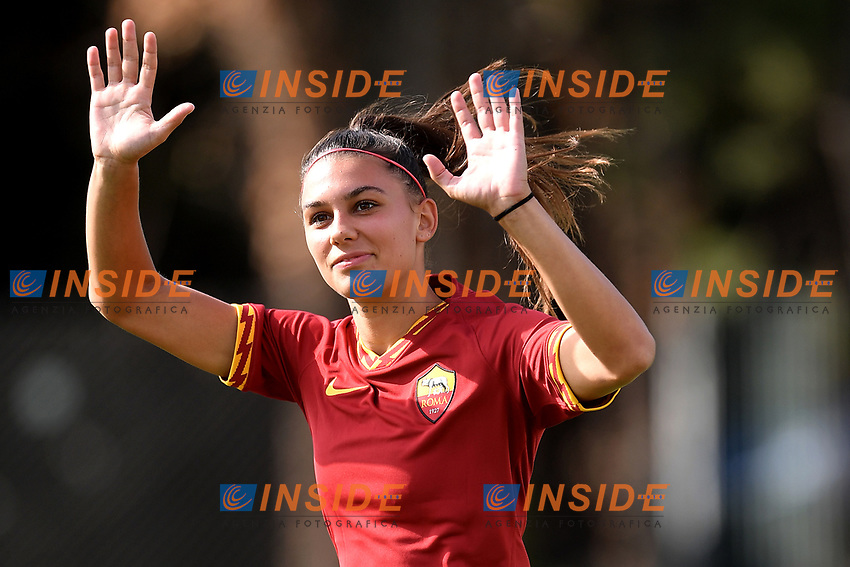 Agnese Bonfantini of AS Roma  <br /> Roma 8/9/2019 Stadio Tre Fontane <br /> Luisa Petrucci Trophy 2019<br /> AS Roma - Paris Saint Germain<br /> Photo Andrea Staccioli / Insidefoto