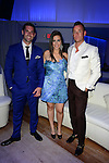 MIAMI BEACH, FL - JUNE 18: Chad Carroll, Samantha DeBianchi and Christopher Leavitt attends Million Dollar Listing Miami Season One VIP Premiere Party at Nikki Beach on June 18, 2014 in Miami Beach, Florida. (Photo by Johnny Louis/jlnphotography.com)
