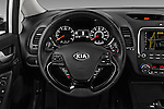 Car pictures of steering wheel view of a 2017 KIA Forte EX-AT 4 Door Sedan Steering Wheel