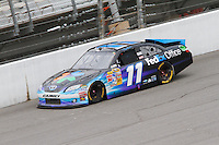 19 June, 2011: Denny Hamlin during the 43rd Annual Heluva Good! Sour Cream Dips 400 at Michigan International Speedway in Brooklyn, Michigan. (Photo by Jeff Speer :: SpeerPhoto.com)