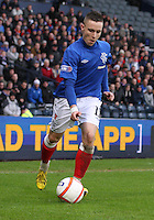 Barrie McKay in the Queen's Park v Rangers Irn-Bru Scottish League Division Three match played at Hampden Park, Glasgow on 29.12.12.