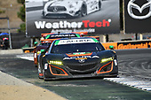 IMSA WeatherTech SportsCar Championship<br /> AMERICA'S TIRE 250<br /> Mazda Raceway Laguna Seca<br /> Monterey, CA USA<br /> Sunday 24 September 2017<br /> 86, Acura, Acura NSX, GTD, Oswaldo Negri Jr., Jeff Segal<br /> World Copyright: Richard Dole<br /> LAT Images<br /> ref: Digital Image DSC_3875