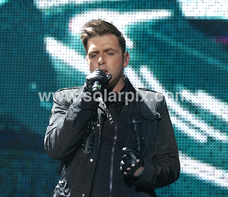 **ALL ROUND PICTURES FROM SOLARPIX.COM**.**WORLDWIDE SYNDICATION RIGHTS**.Irish pop boy band Westlife performing live at the Liverpool Echo Arena in the UK..This pic: Mark Feehily ..JOB REF: 11224      SGD     DATE:07.05.2010.**MUST CREDIT SOLARPIX.COM OR DOUBLE FEE WILL BE CHARGED**.**MUST NOTIFY SOLARPIX OF ONLINE USAGE**.**CALL US ON: +34 952 811 768 or LOW RATE FROM UK 0844 617 7637**
