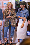Singers Lali Esposito (L) and India Martinez during the press conference and rehearsal of Festival Unicos. September 22, 2019. (ALTERPHOTOS/Johana Hernandez)