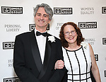 Rick Hinkson and Alyce Stark attends the Gingold Theatrical Group's Golden Shamrock Gala at 3 West Club on March 16, 2019 in New York City.