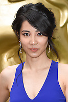Jing Lusi<br /> arrives for the BAFTA TV Craft Awards 2016 at the Brewery, Barbican, London<br /> <br /> <br /> &copy;Ash Knotek  D3109 24/04/2016