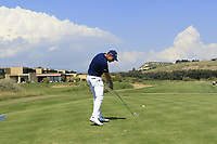 Andrea Pavan (ITA) during the third round of the Rocco Forte Sicilian Open played at Verdura Resort, Agrigento, Sicily, Italy 12/05/2018.<br /> Picture: Golffile | Phil Inglis<br /> <br /> <br /> All photo usage must carry mandatory copyright credit (&copy; Golffile | Phil Inglis)