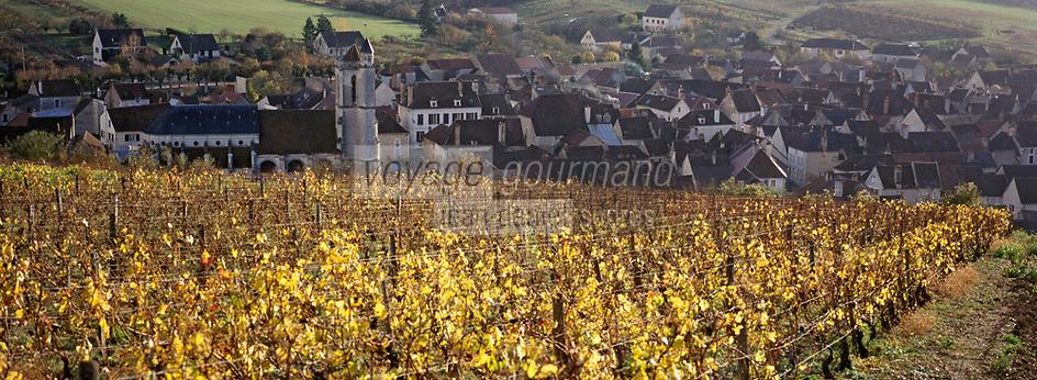 Europe/France/89/Bourgogne/Yonne/Irancy: Le village et le vignoble