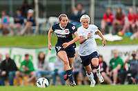 Sky Blue FC midfielder Katy Freels (Frierson) (17). Sky Blue FC defeated the Seattle Reign FC 2-0 during a National Women's Soccer League (NWSL) match at Yurcak Field in Piscataway, NJ, on May 11, 2013.