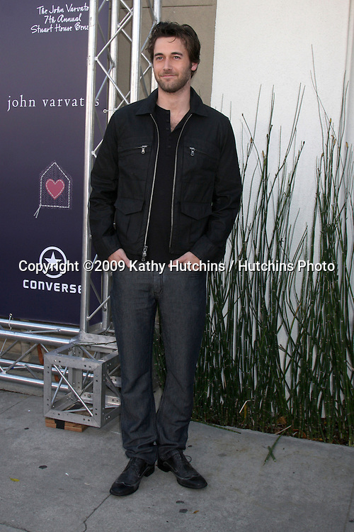 Ryan Eggold   arriving at the 7th Annual John Varvatos Stuart House Benefit at the John Varvatos Store in West Hollywood, CA  on.March 8, 2009.©2009 Kathy Hutchins / Hutchins Photo...                .