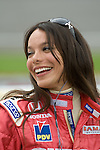 4 August 2007: Milka Duno (VEN) at the Firestone Indy 400, Michigan International Speedway, Brooklyn, Michigan